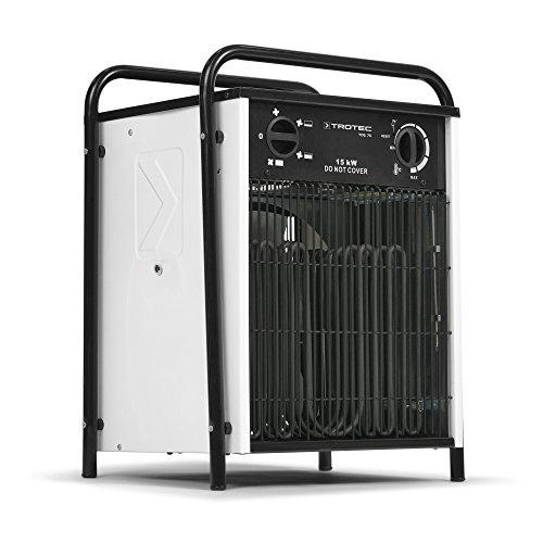 TROTEC Elektroheizer TDS 75 mit 15 kW Heizlüfter Heizgerät Bauheizer