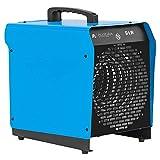 ALLEGRA Heizlüfter 9 KW Elektroheizer Heizgerät Bauheizer Elektroheizung Heizung mit Thermostat und ca. 1,5m Zuleitung (H91)
